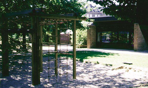 Eingangsbereich Außen Kindertagesstätte Arche Noah