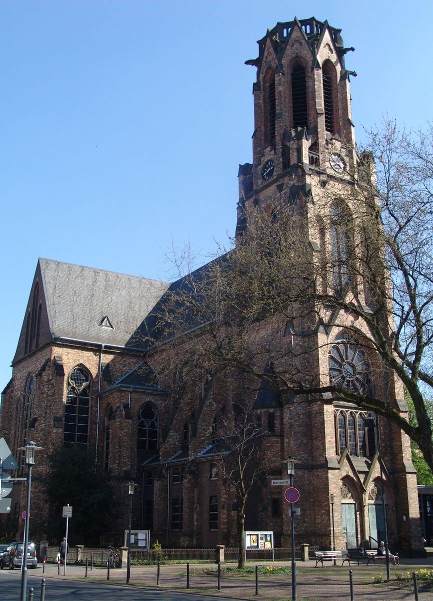 Friedenskirche Krefeld um 2000